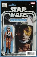 Star Wars #11 - Christopher Action Figure (Luke Skywalker: X-Wing Pilot) Variant Cover